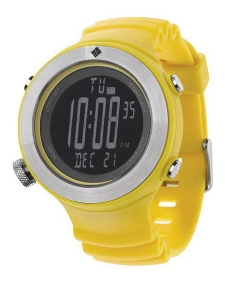 Relógio De Pulso Columbia Tailwhip - Amarelo