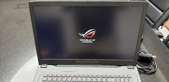 Notebook Asus Rog Strix Gl702v Gtx1080 I7 16gb Ram Gamer