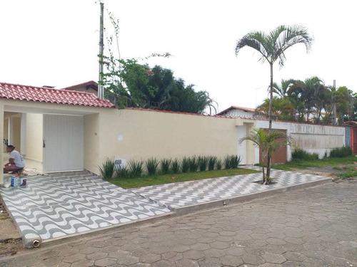 Casa Com 5 Dorms, Balneário Flórida Mirim, Mongaguá - R$ 550 Mil, Cod: 2991 - V2991