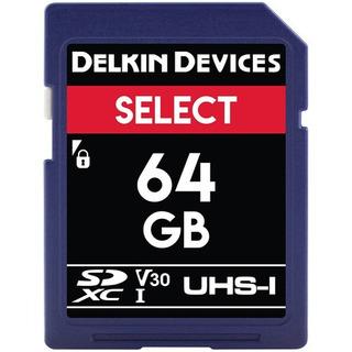 Delkin Devices 64gb Cartão De Memória Uhs-i Sdxc