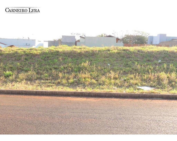 Terreno À Venda, 479 M² Por R$ 144.000 - Jardim Juliana - Jaú/sp - Te0192