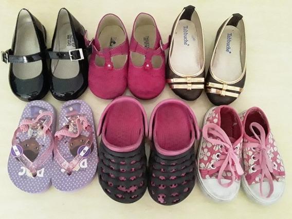 Zapatos De Niña Talla 20 Y 21