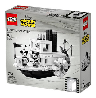 Lego Mickey Mouse Steamboat Willie 21317