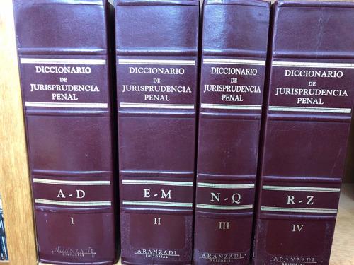 Imagen 1 de 6 de Diccionario De Jurisprudencia Penal