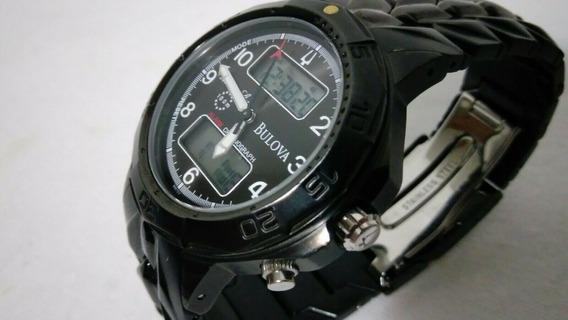 Relógio Bulova 98c59 Marine Star - Analógico E Digital