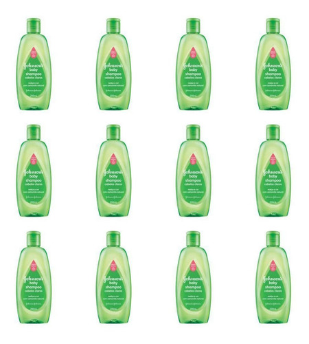 Johnsons Baby Cabelos Claros Shampoo 200ml (kit C/12)