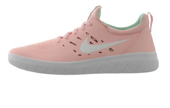 Tênis Nike Sb Nyjah Free Bleached Coral White