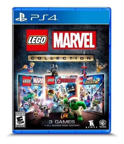 Imagem 1 de 3 de LEGO Marvel Collection Warner Bros. PS4  Físico