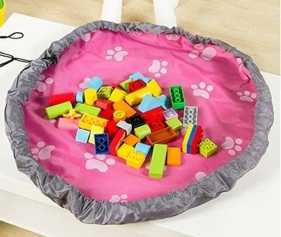 Tapete Saco Bolsa Organizador Brinquedos Kids - 78cm