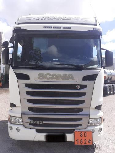 Scania R480 6x4-2016 Highline Streamline Mugen Caminhoes