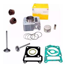 Cilindro Motor Junta Valvula Retentor Ybr Xtz 125 Metal Leve