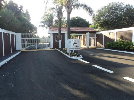 Terreno Residencial À Venda, Condomínio Santa Mônica, Brodowski. - Te0026