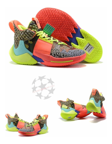 Jordan Why Not Zer0.2 Russell Westbrook Multicolor