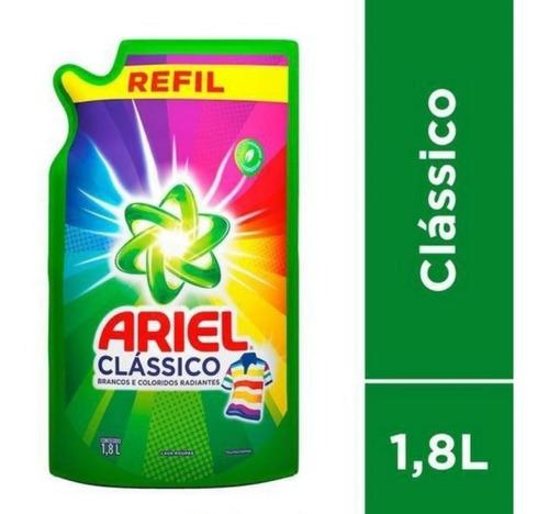 Sabão Líquido Refil Ariel Clássico 1.8l -brancas E Coloridas