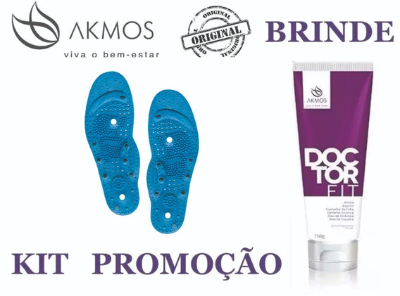 Palmilha Akmos Terapêutica Infravermelho + Doctorfit