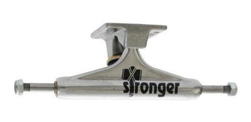 Imagem 1 de 4 de Truck Stronger 139mm Logo Preto - Par