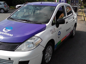 Nissan Tiida 1.8 Sense Sedan Mt (taxi Trabajando Muy Bien)