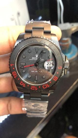 Relógio Mod. Gmt Master Il Madman Base Eta 2840 Aço 904l.