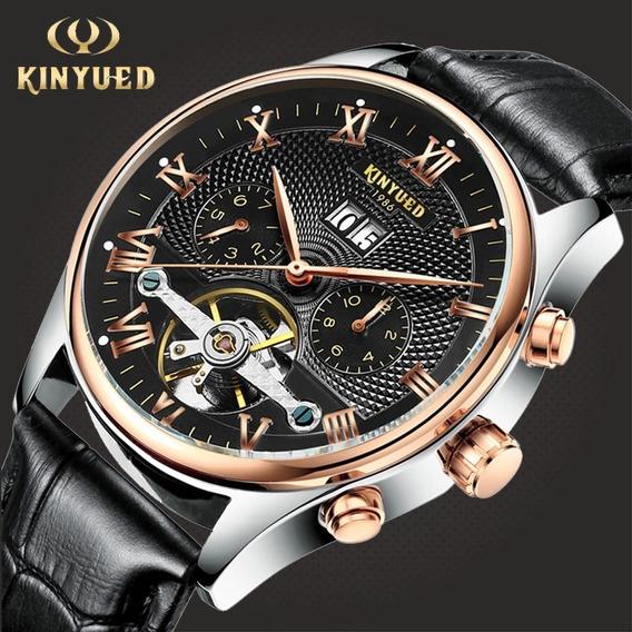 Relógios Automático Kinyued Marca De Luxo Top Original