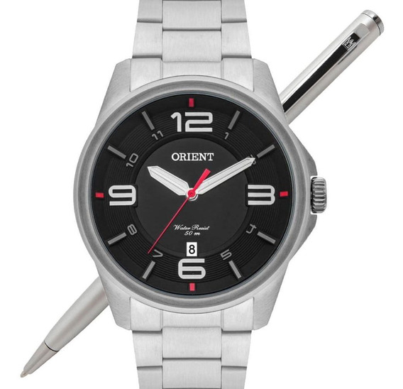 Relógio Orient Masculino Mbss1288 P2sx Analógico - C/ Nfe