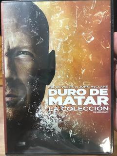Duro De Matar Bruce Willis La Colección Completa 5 Dvd Nuevo