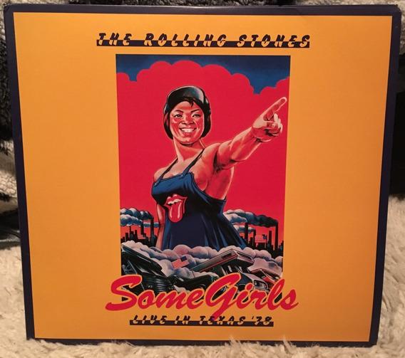 Rolling Stones - Some Girls Live Texas Vinil Duplo + Dvds