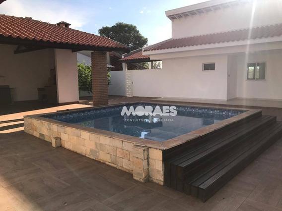 Casa Em Condomínio Com 4 Dormitórios Para Alugar, 900 M² Por R$ 5.000/mês - Ca1458