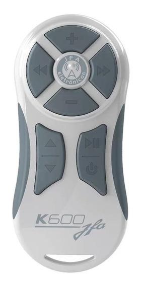 Controle Longa Distancia Jfa Branco Com Cinza K600 Full