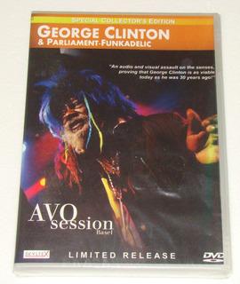 George Clinton Avo Session Basel Dvd Nuevo / Kktus