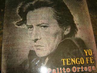 Palito Ortega - Yo Tengo Fe - Vinilo Lp