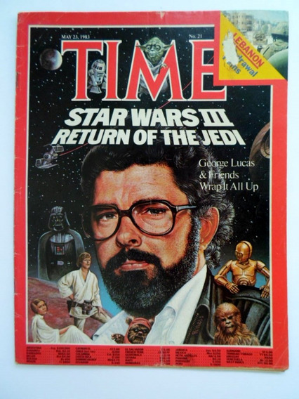 Revista Time 1983 Star Wars Retorno De Jedi (inglês)