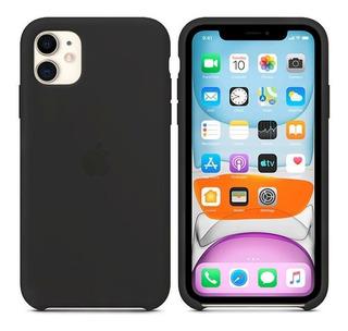 Capa Case Luxo Silicone Aveludada iPhone 11 Pro Pro Max Luxo