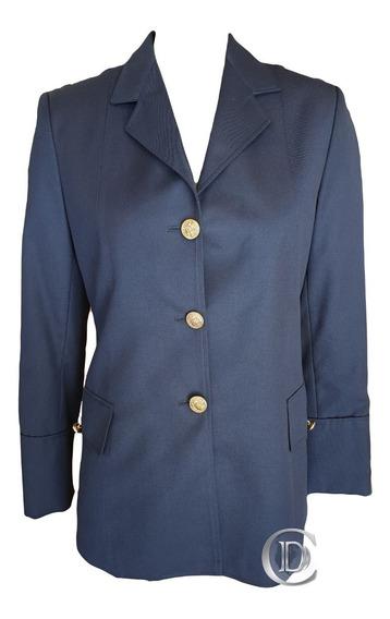 Saco De Gala Femenino Azul Policía