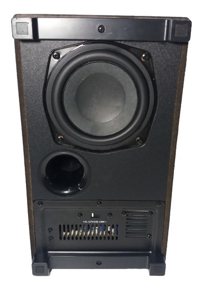 Subwoofer Micro Theater Wireless Philips Mcd 388/55