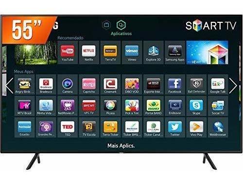 Tv 55 Led Smart 4k Usb Hdmi, Samsung,