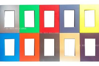 Llave Jeluz Platinum Platinium 2 Modulos Color Pack 10