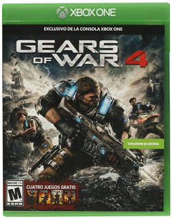 Gears Of War 4 Xbox One + Saga De Gears Xbox 360 (d3 Gamers)