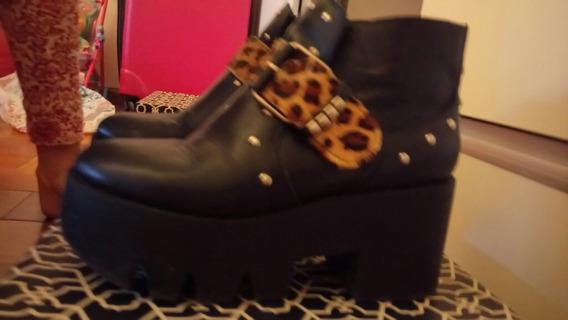 Botas Cuero Y Zapatos Gamuza