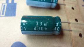 Kit 10 Cap. Eletrolítico Na Fita 33uf X 400v Samsung 85°