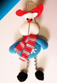 Lindo Muñeco 18cm Navideño Árbol Navidad - Bigbull