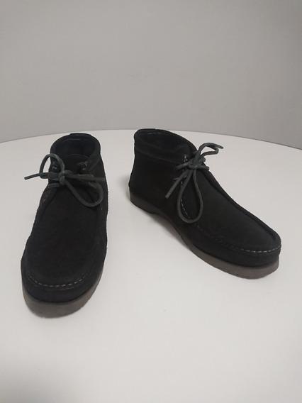 Botas De Gamuza Zara