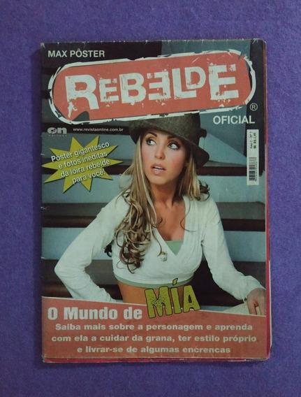 Rbd Anahí Mia Revista Megapôster Rebelde Ano 1 No.7