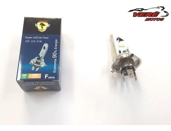 Lampada Farol H4 Led Efeito Xenon 8000k Cg 125/150/ Factor