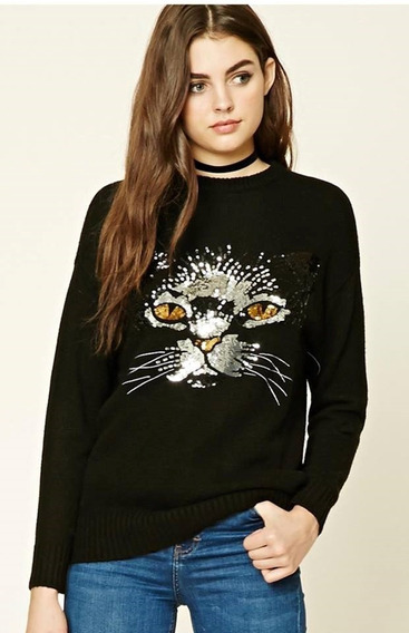 Sweater Forever 21 Lentejuelas Importado Usa Talle Small