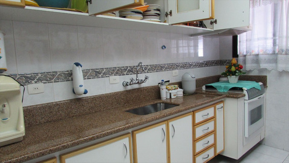 Apartamento Em Praia Grande, No Bairro Guilhermina - 2 Dormitórios