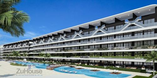 Imagen 1 de 13 de Acogedor Apartamento En Planos, 2 Hab En Punta Cana Wpa101 A