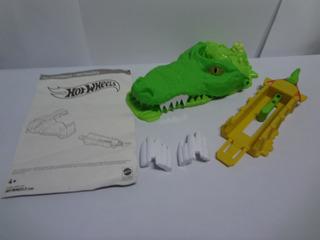 Pista Hot Wheels Ataque Do Crocodilo Sem Carrinho