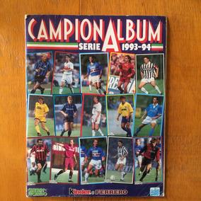 Álbum De Figurinhas Campeonato Italiano (completo/1993-1994)