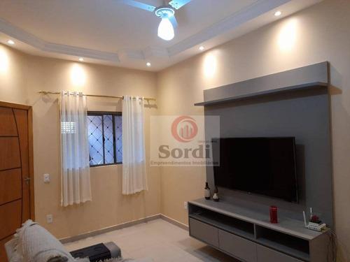 Casa À Venda, 135 M² Por R$ 370.000,00 - Jardim Antártica - Ribeirão Preto/sp - Ca2946