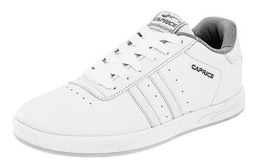 Caprice Tenis Escolar Blanco Sint Caballero C12698 Udt
